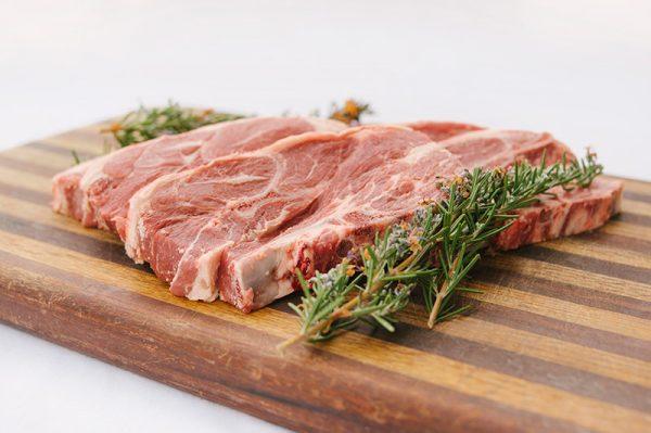 BBQ Forequarter lamb chops