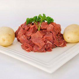 Premium Diced Steak