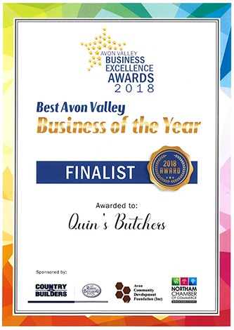 Avon Valley Business of the Year Award