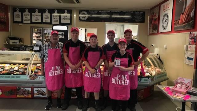 Quins Gourmet Butchers Team